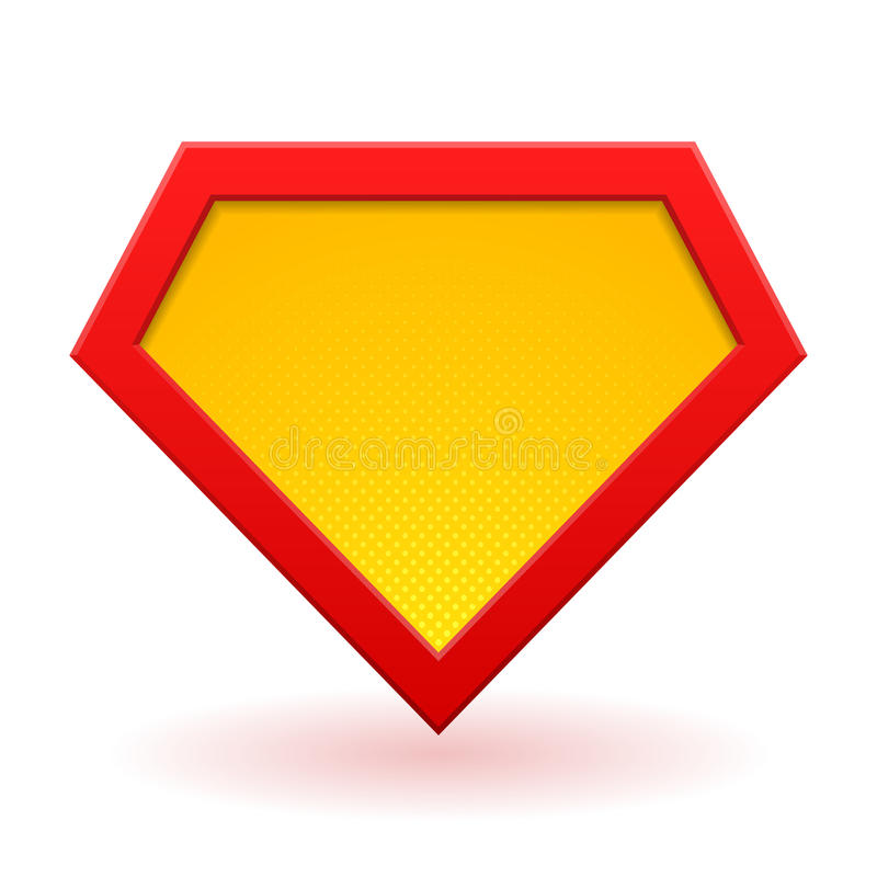 超级英雄商标模板