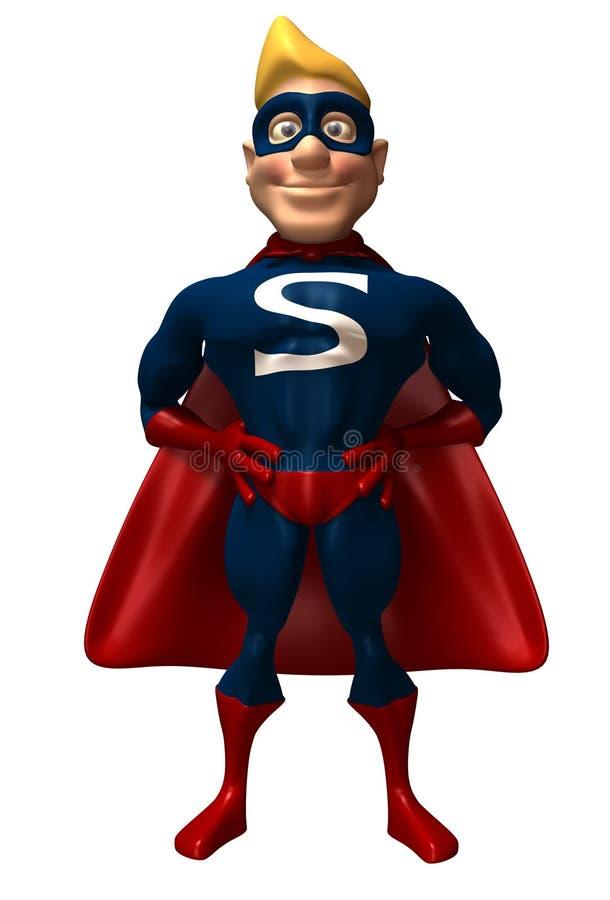 超级英雄 库存例证
