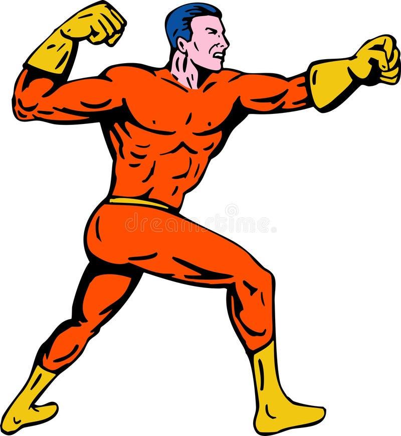 超级英雄 图库摄影