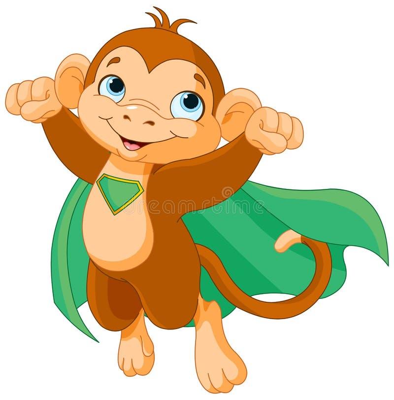 超级猴子 库存例证