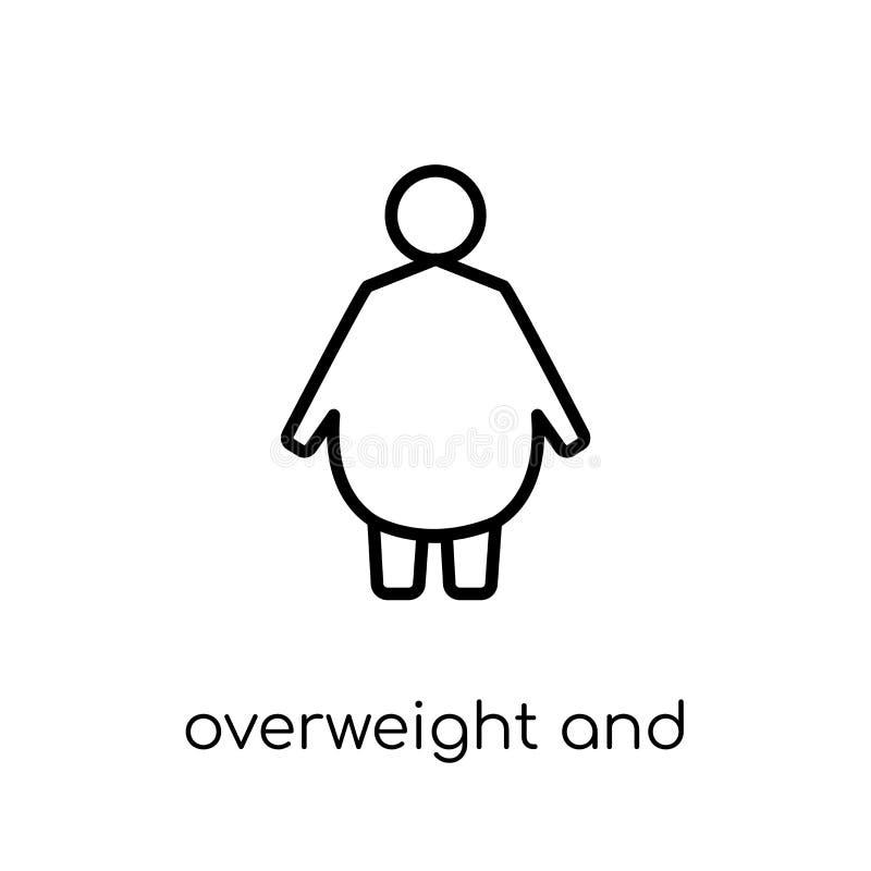 超重和肥胖病象  皇族释放例证