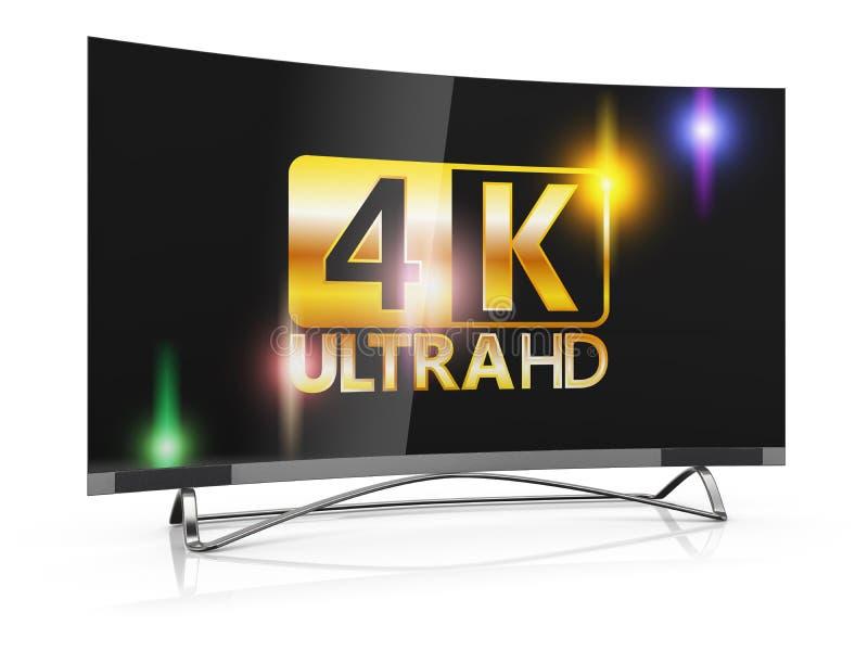 超4K HD 库存例证