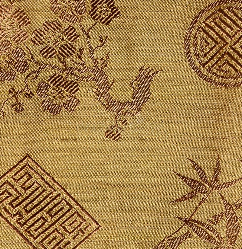 越南丝绸 免版税库存照片
