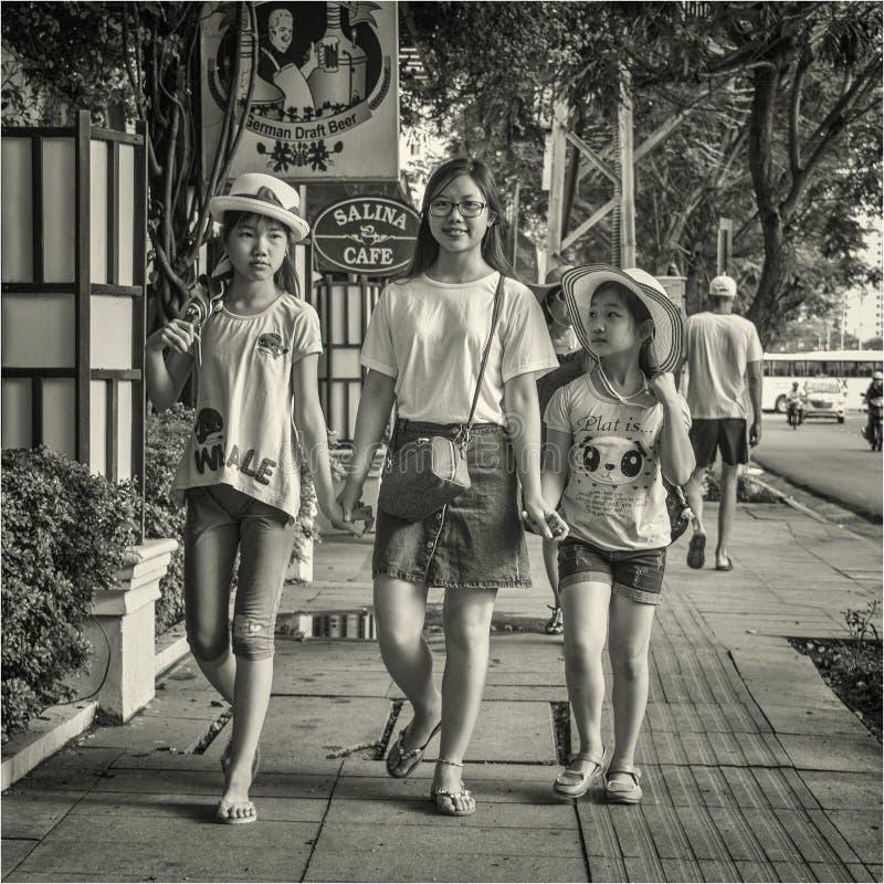越南和vietnameses 库存图片