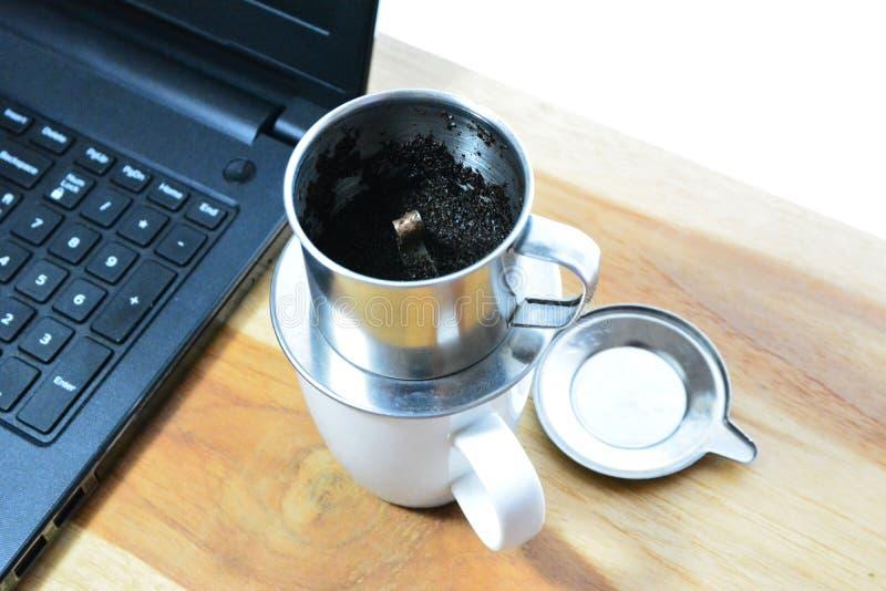 越南咖啡 免版税库存照片