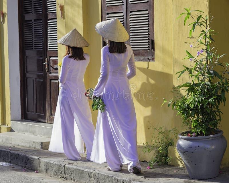 越南女孩 免版税库存照片