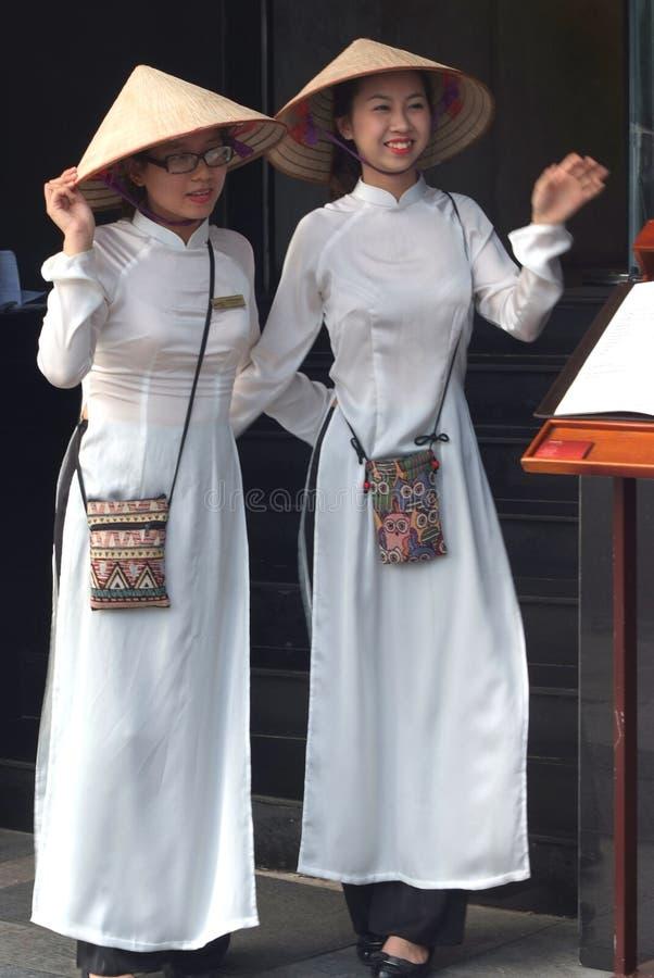 越南女孩 免版税库存图片