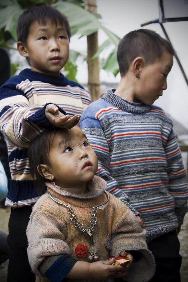 越南孩子4 库存照片