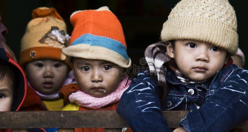 越南孩子 图库摄影