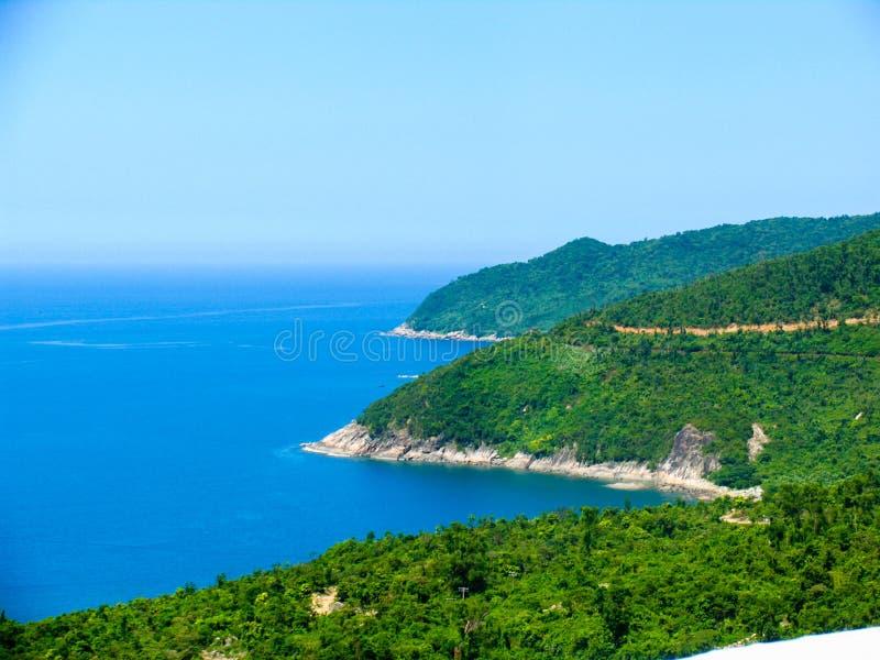 越南沿海线 免版税库存照片