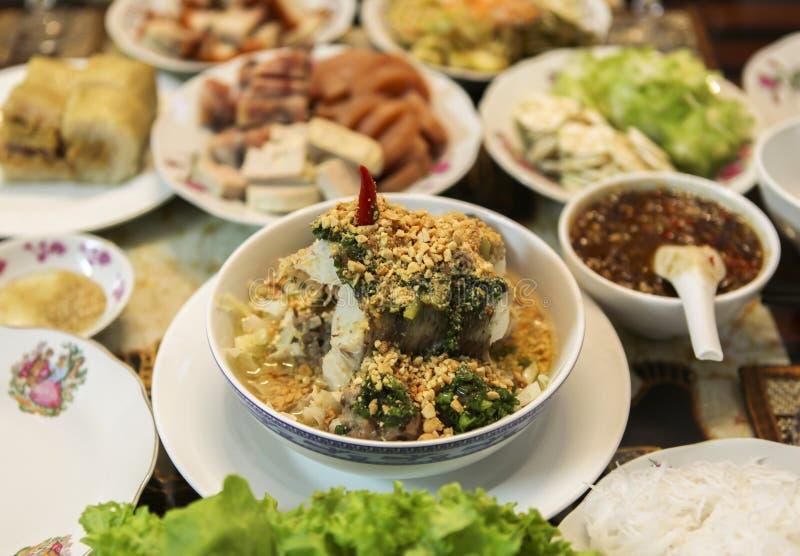 越南烹调 免版税库存图片