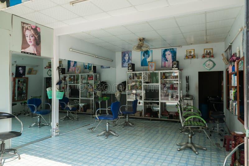 越南理发店沙龙 库存图片