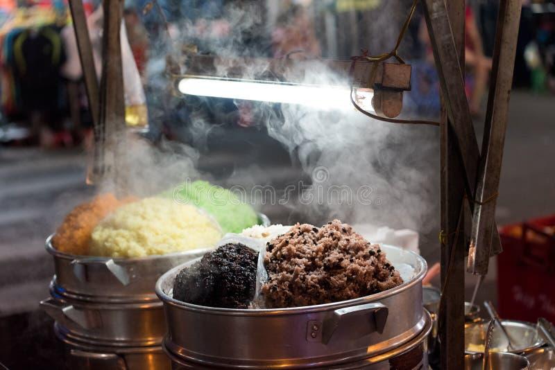越南的黏米饭 库存照片
