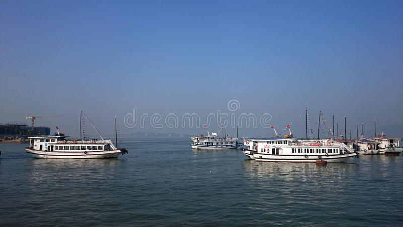 越南船 免版税图库摄影