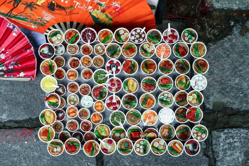 越南食物 免版税库存图片