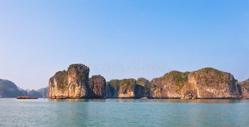越南,下龙湾风景 库存照片
