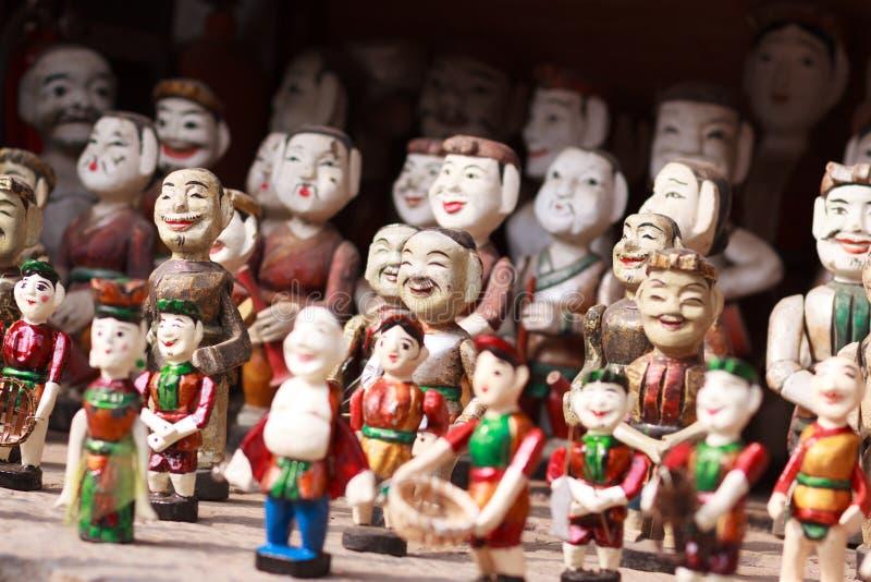 越南水木偶 库存图片