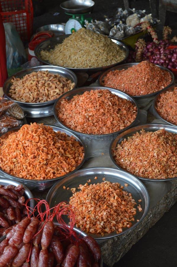 越南-湄公河三角洲芹苴市市场 免版税库存照片