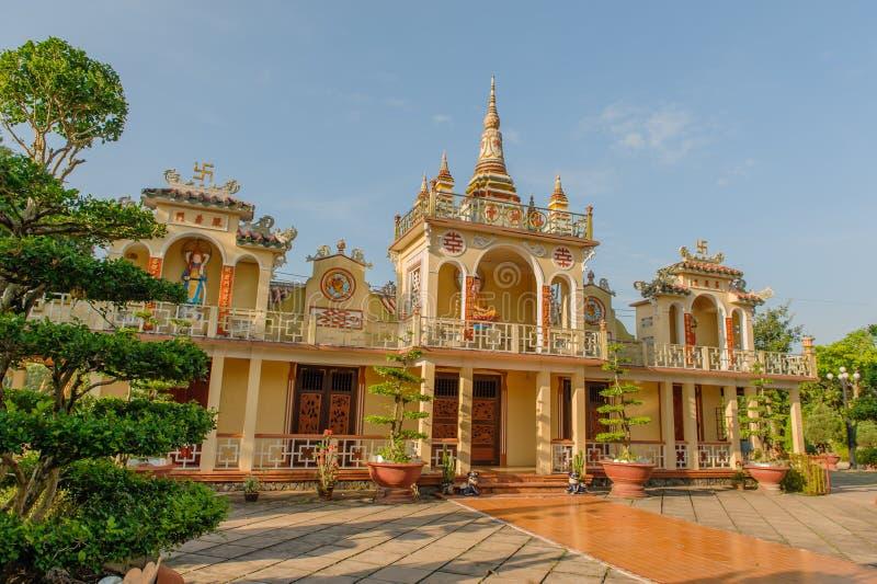 越南-湄公河三角洲 库存图片