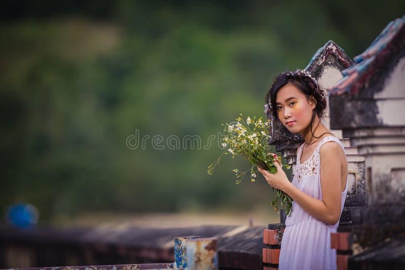 越南年轻美丽 库存照片