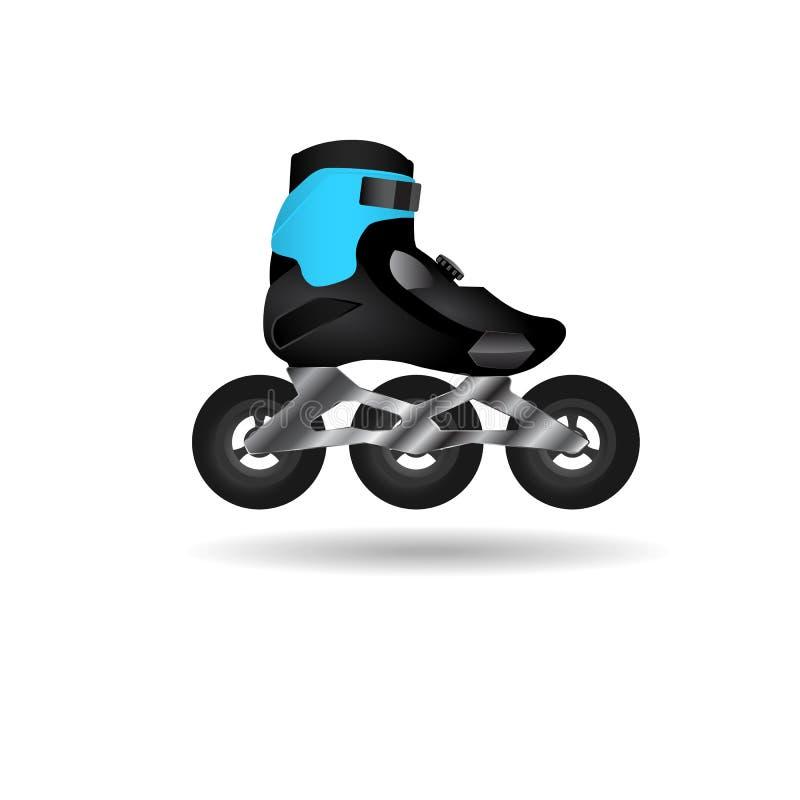 越野溜冰鞋象 免版税库存照片