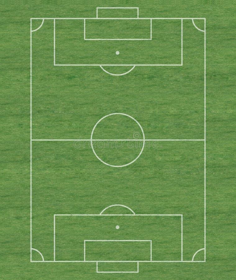 足球场布局 向量例证