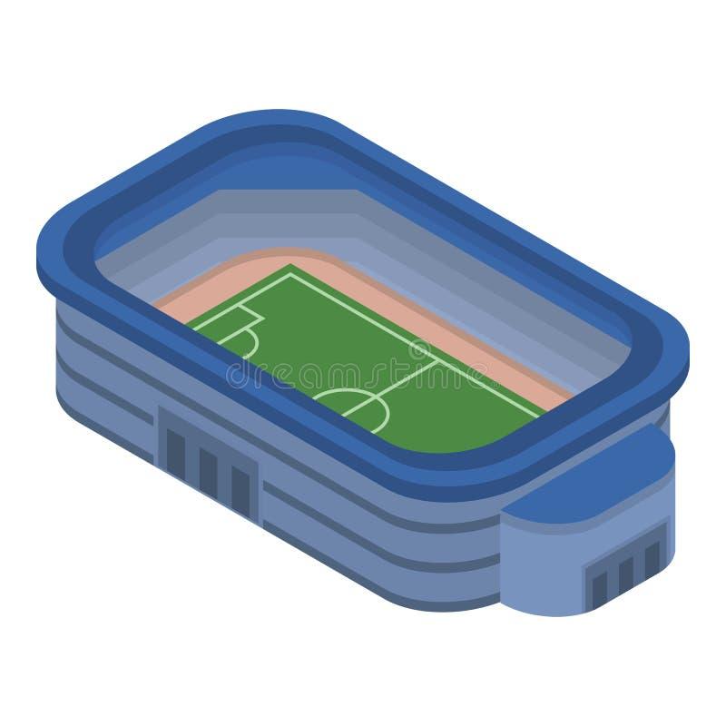足球场象,等量样式 库存例证