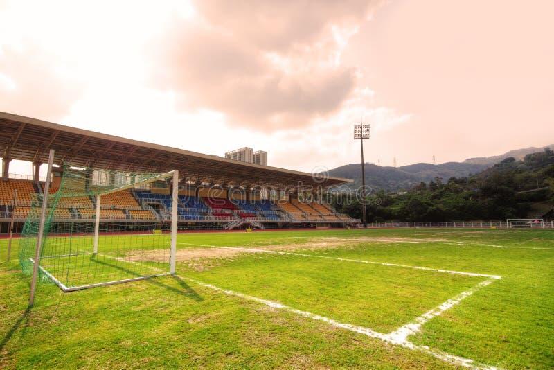 足球场 库存图片
