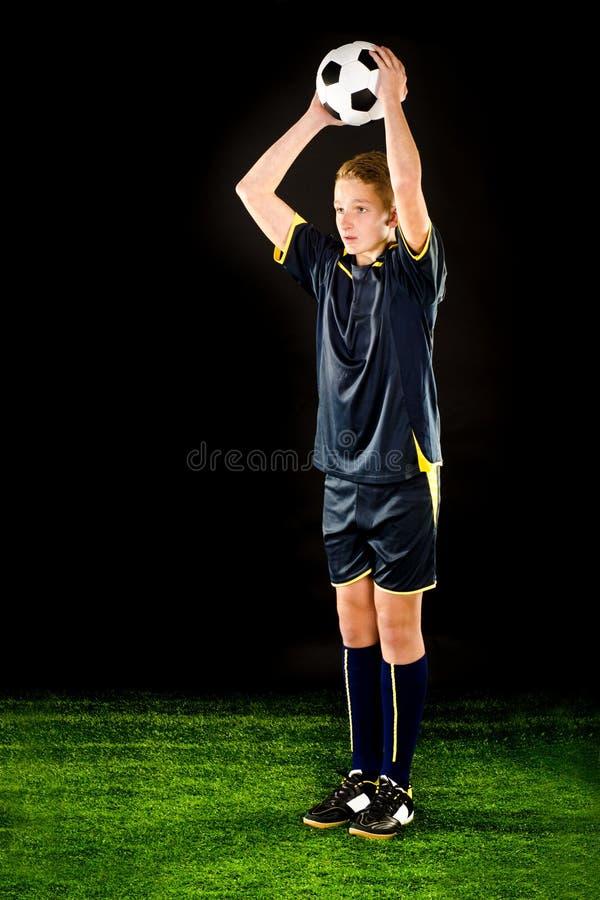 足球运动员 图库摄影