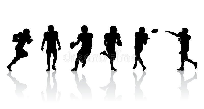 足球运动员 皇族释放例证