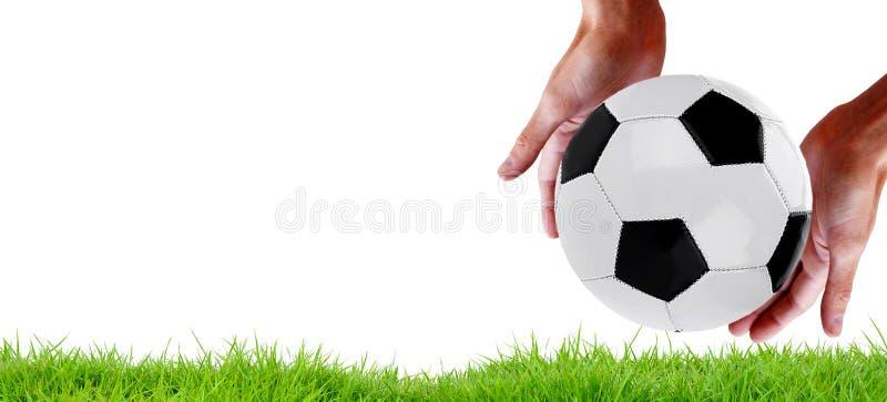 足球队体育 冠军 免版税库存照片