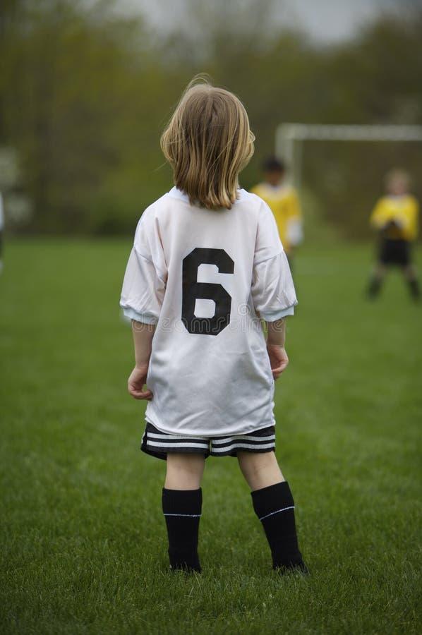 足球青年时期 免版税库存图片