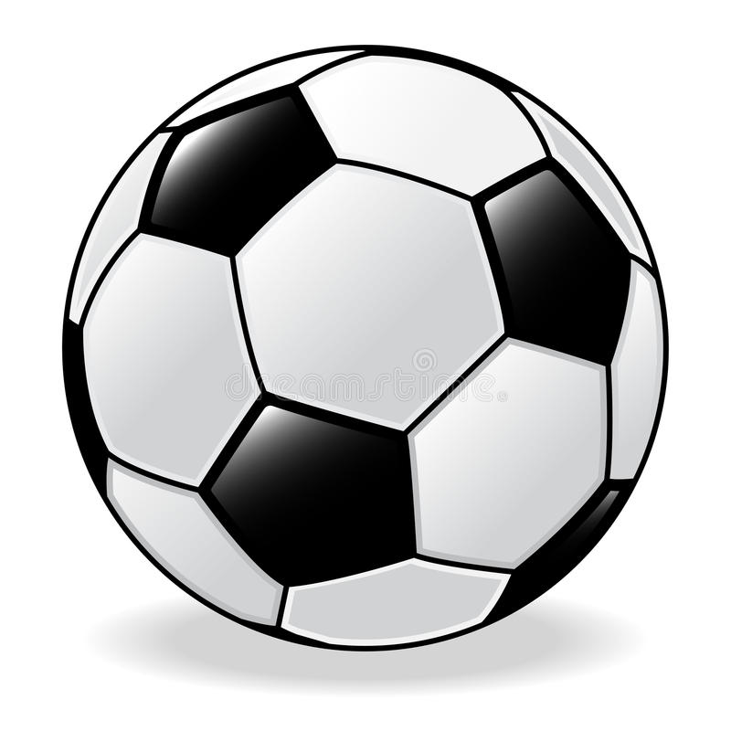 足球,橄榄球-传染媒介例证 皇族释放例证