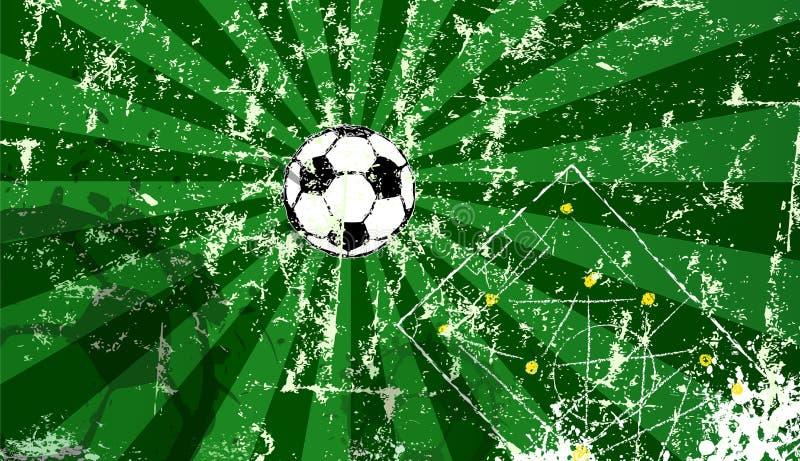 足球/橄榄球设计模板,超级难看的东西 库存例证