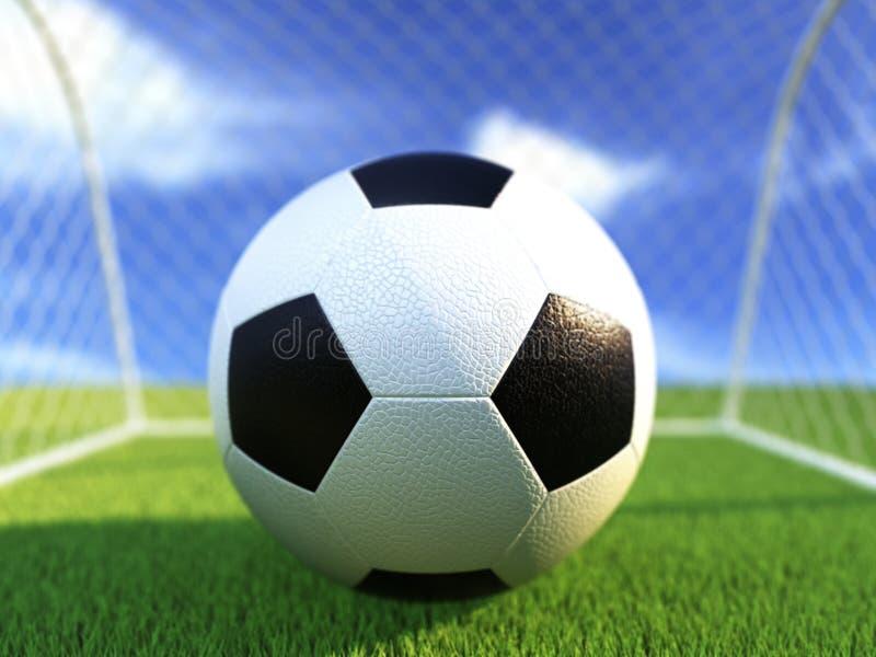 足球 向量例证