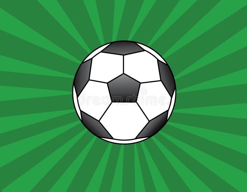 足球 库存例证