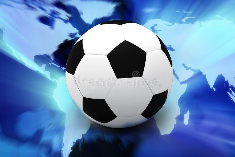 足球 皇族释放例证