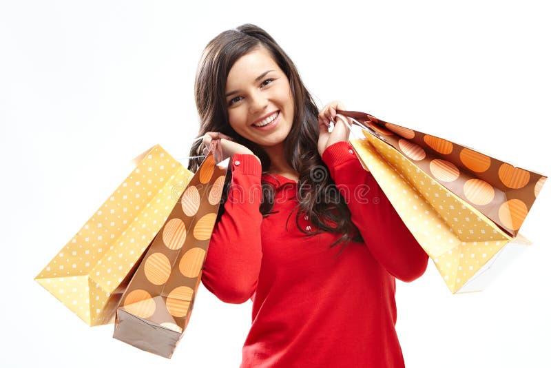 满足的顾客 免版税库存图片