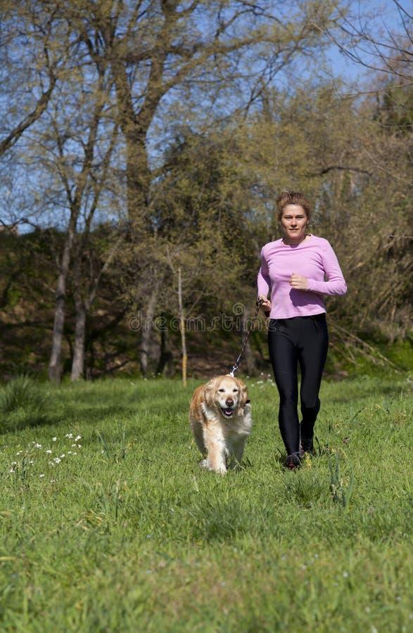 Download 跑与您的狗的女孩 库存照片. 图片 包括有 绿色, 肌肉, 休闲, 活动家, 蠢材, 愉快, 户外, 行动 - 30331244