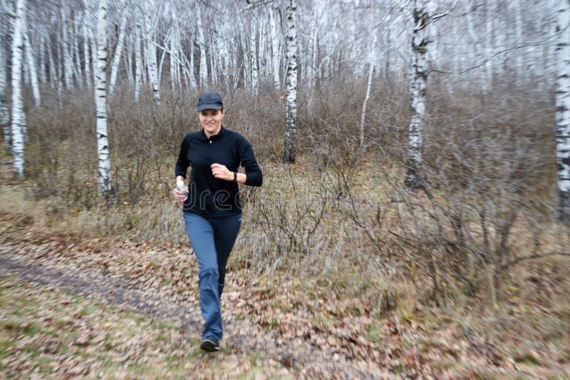跑是最容易 免版税图库摄影