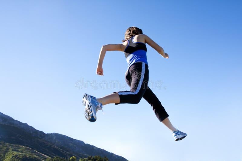 跑步的运行 图库摄影