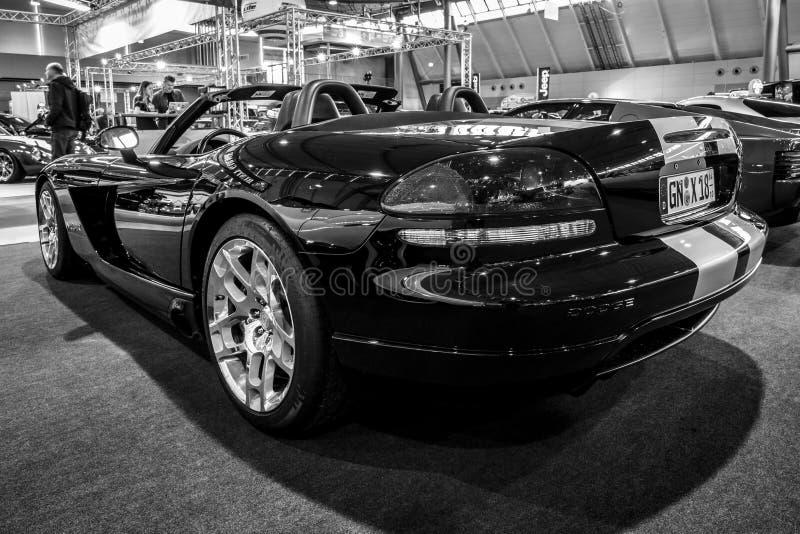 跑车推托蛇蝎SRT-10, 2008年 免版税库存照片