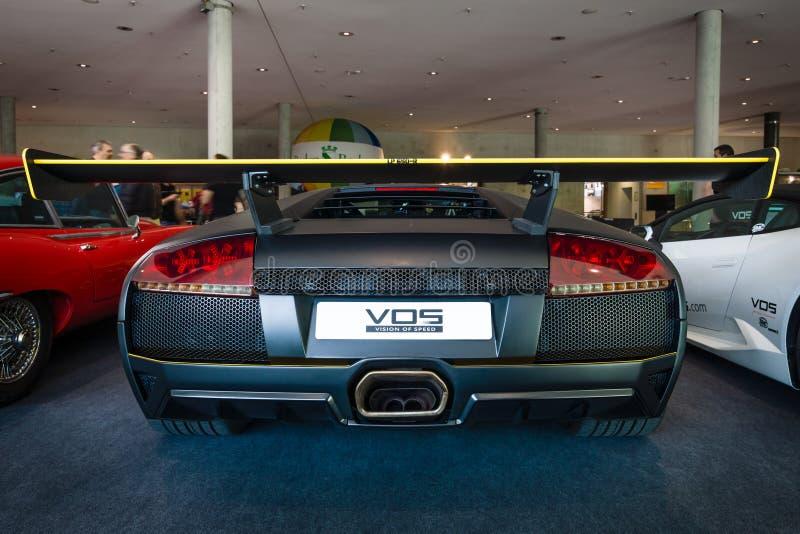跑车Lamborghini Murcielago PL650R (做仅4个拷贝), 2007年 库存照片
