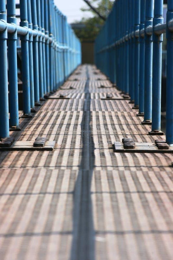 距离桥梁 库存照片