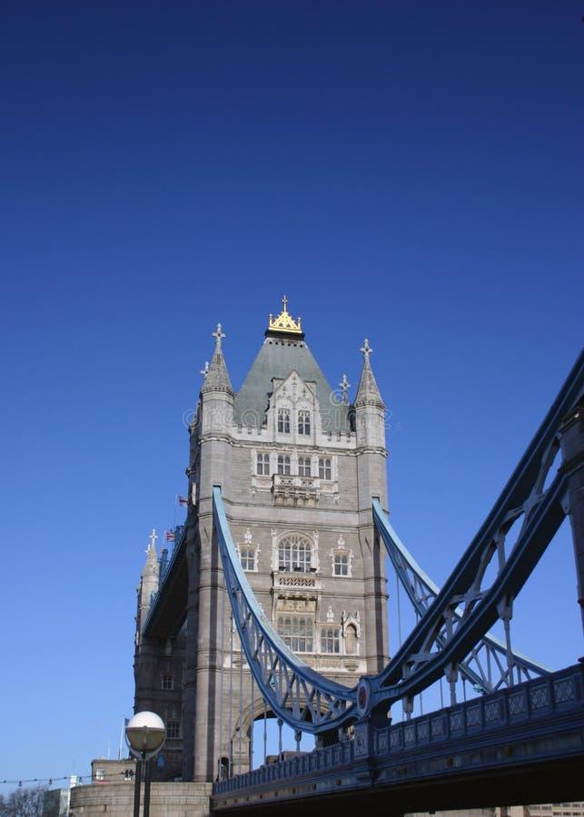 跨接伦敦塔 图库摄影