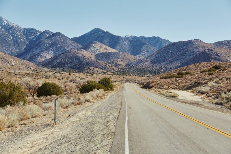 路和山,美国 图库摄影