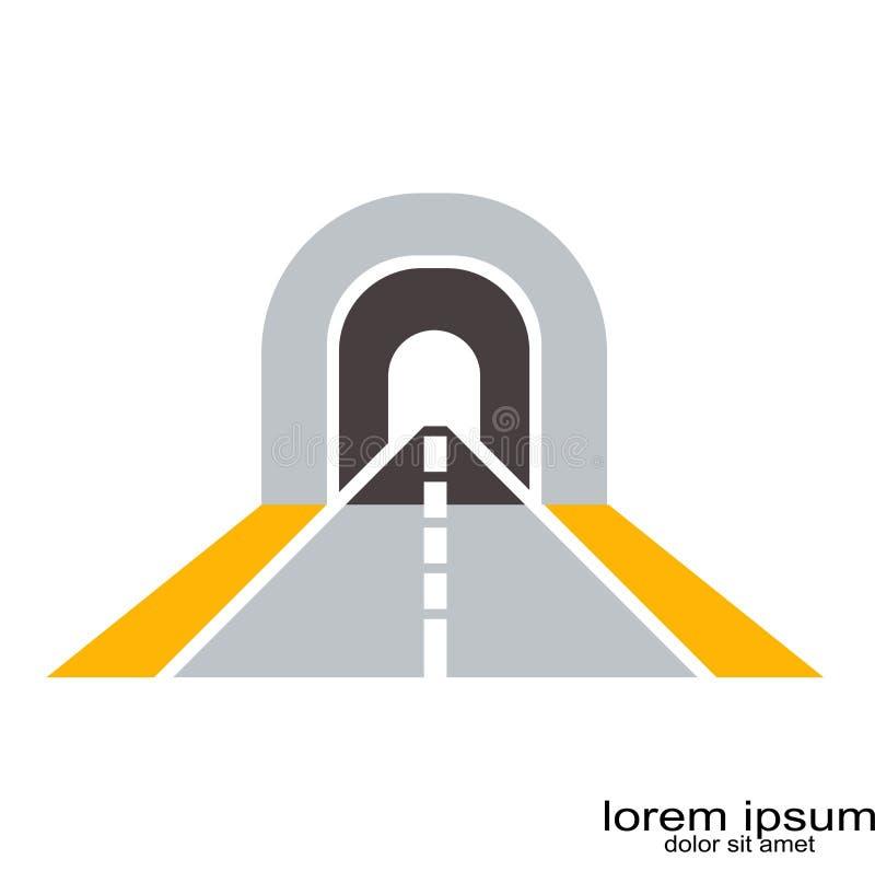 路商标传染媒介 向量例证