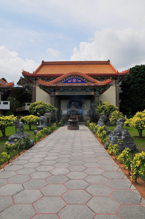 路寺庙 图库摄影