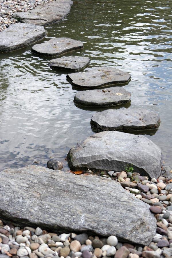 路径石头 库存照片