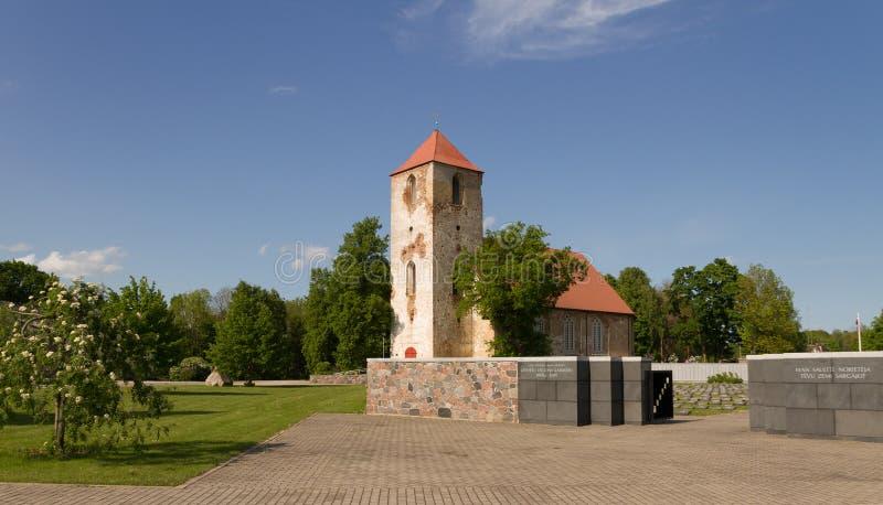路德教会在Lestene 库存照片